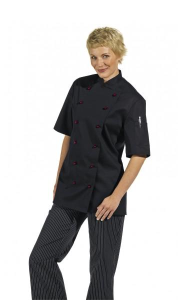 Kochjacke Clean-Dress 1094 Kurzarm für Kugelknöpfe Gr.46