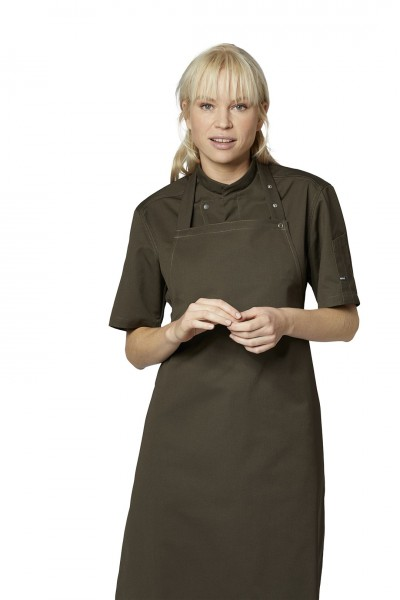 Koch-/Servicehemd Kurzarm Chef-Style 23516 olive-grün