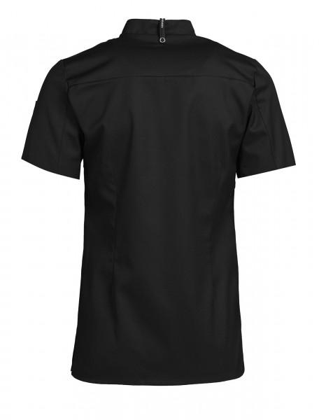Damen Koch-/Servicehemd Kurzarm mit Stehkragen