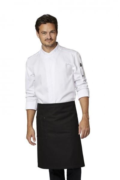 Gourmet Kochjacke 23522 mit Tencel von Kentaur bei workers friend