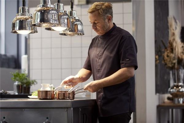 Koch- und Servicehemd Kurzarm Chef-Style 23516 dunkelblau